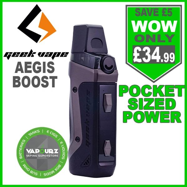 Geek Vape Aegis Boost Kit Gunmetal