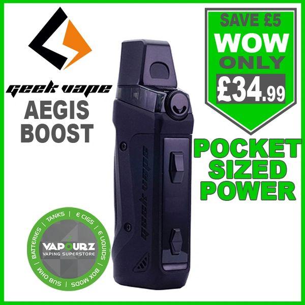 Geek Vape Aegis Boost Kit Space Black