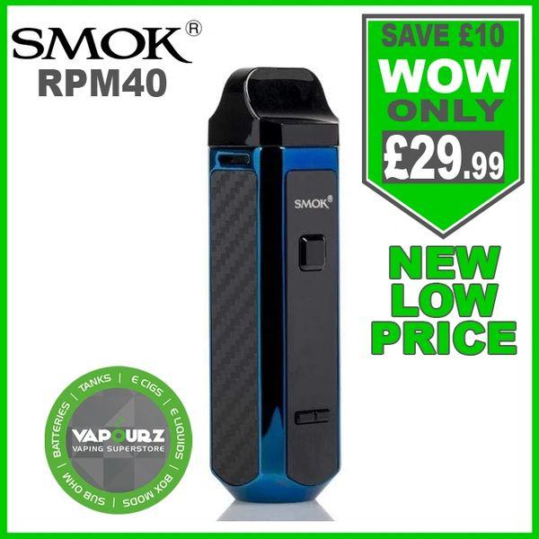SMOK RPM 40 Kit Prism Blue
