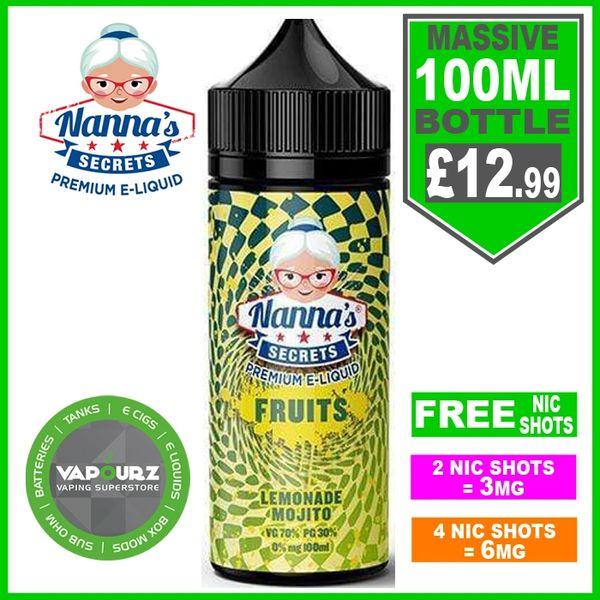 Nannas Secrets Fruits Lemonade Mojito100ml