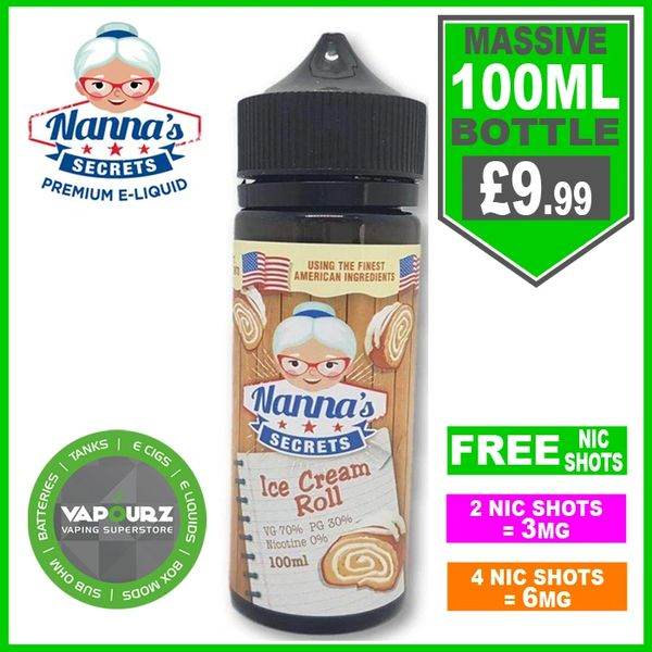 Nannas Secrets Ice Cream Roll 100ml