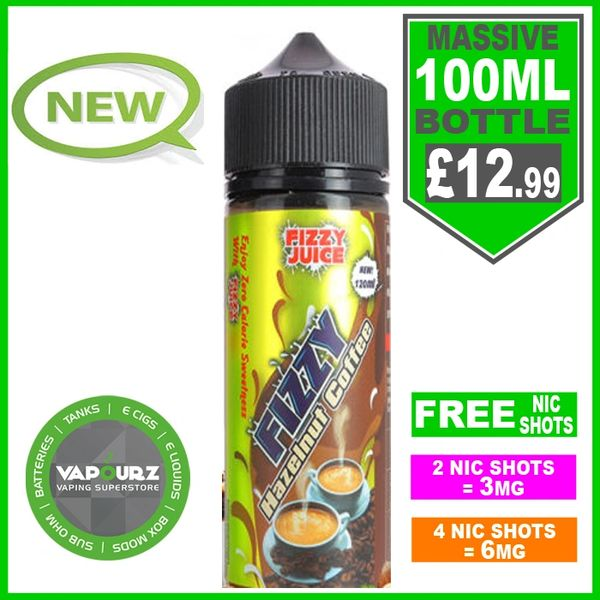 FIZZY Hazelnut coffee 100ml