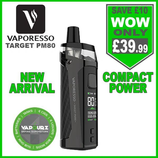 Vaporesso Target PM80 Black