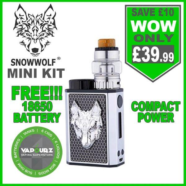 Snowwolf Mini kit Black + Silver