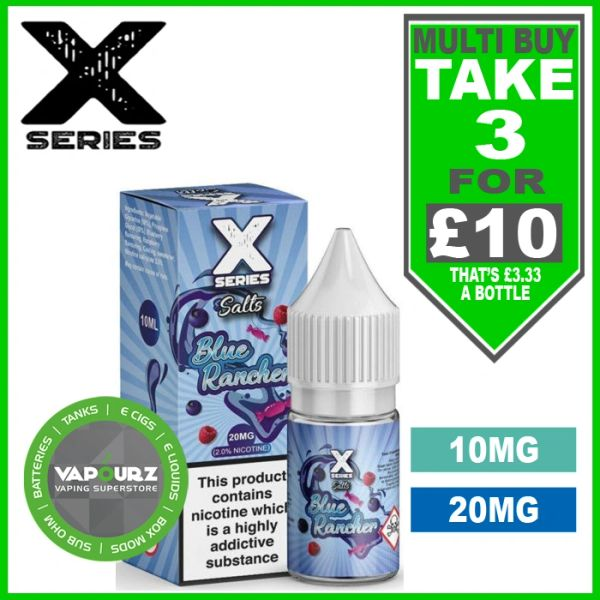 Blue Rancher X Series Salts 10mg/20mg
