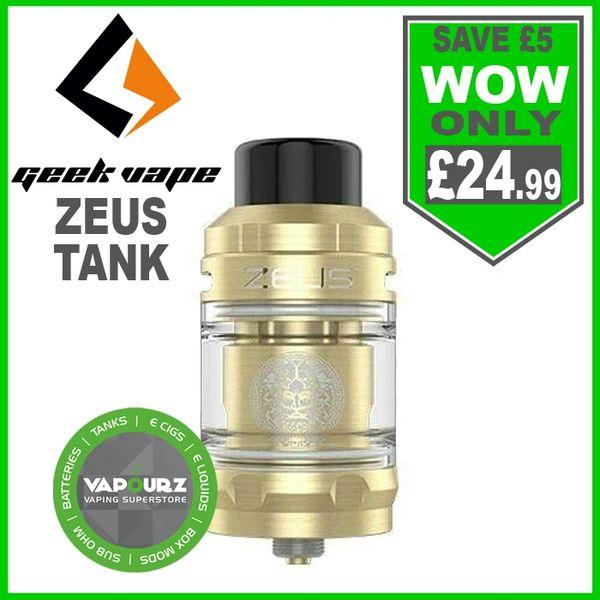 Geek Vape Zeus Tank Gold