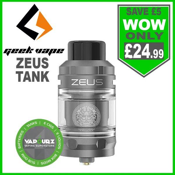 Geek Vape Zeus Tank Gunmetal
