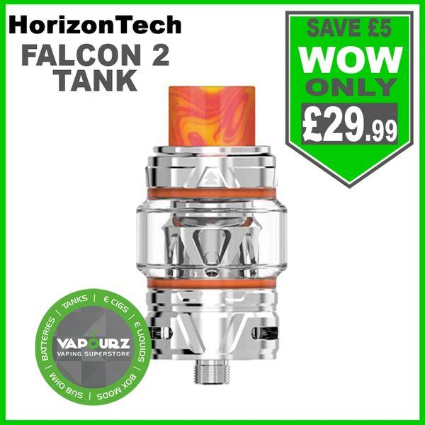 Horizontech Falcon 2 Tank Stainless Steel