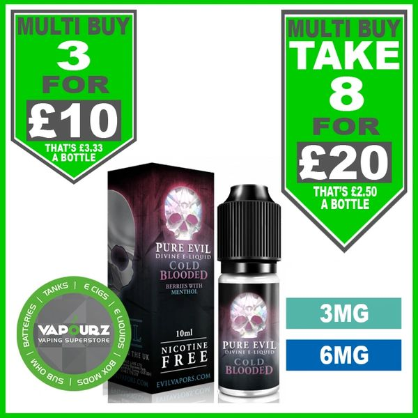 Pure Evil Cold Blooded 10ml