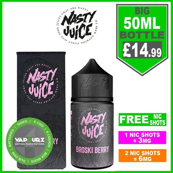 Broski Berry Nasty Juice 50ml