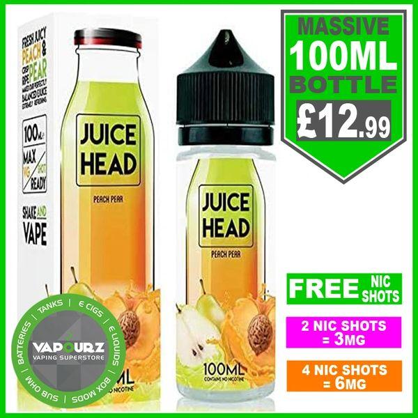 Peach Pear Juice Head 100ml