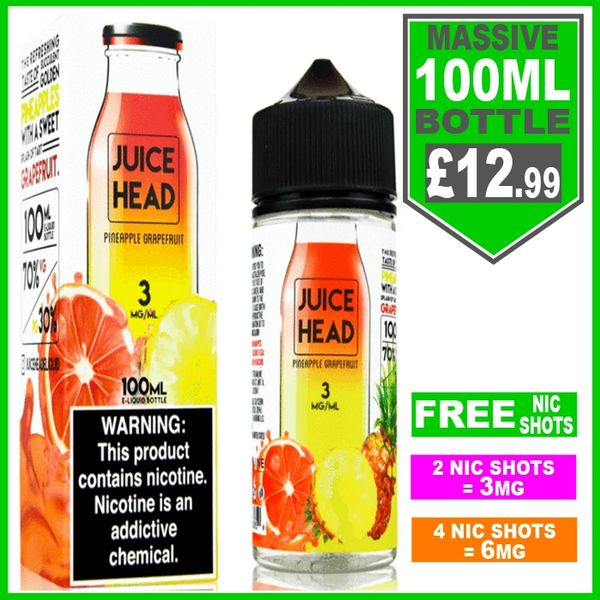 Pineapple Grapefruit Juice Head 100ml