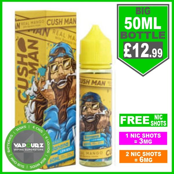 Mango Banana Cush Man Nasty Juice 50ml