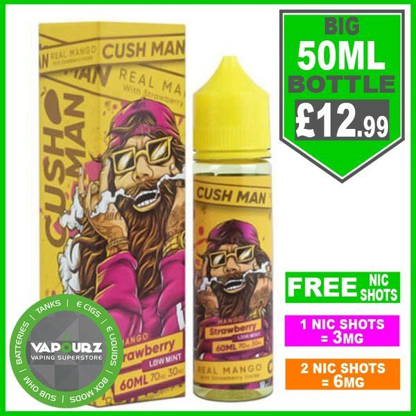 Mango Strawberry Cush Man Nasty Juice 50ml