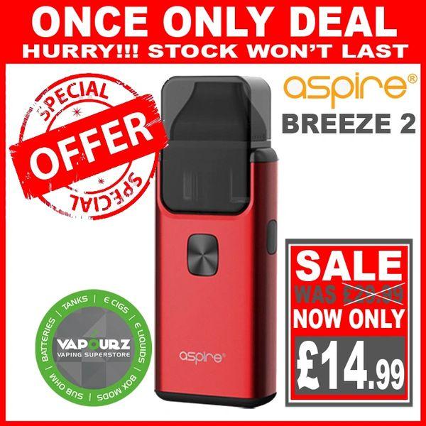 Aspire Breeze 2 Red