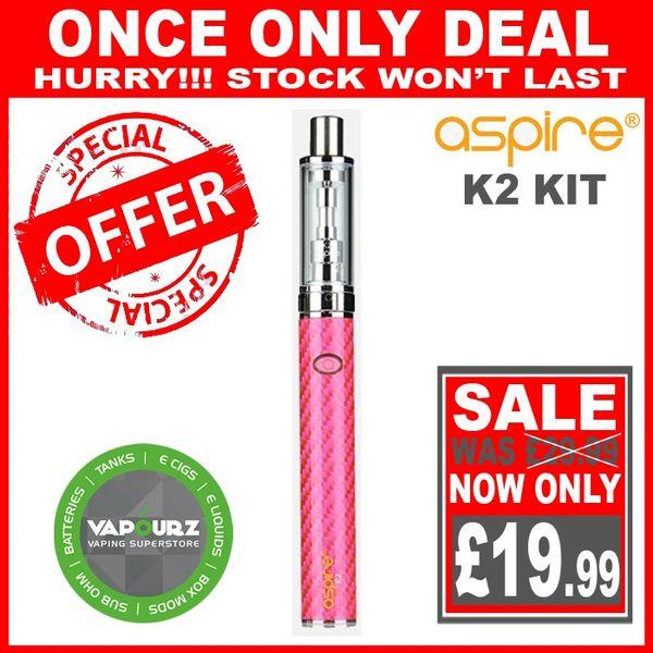 Aspire K2 Quick Start Kit Pink