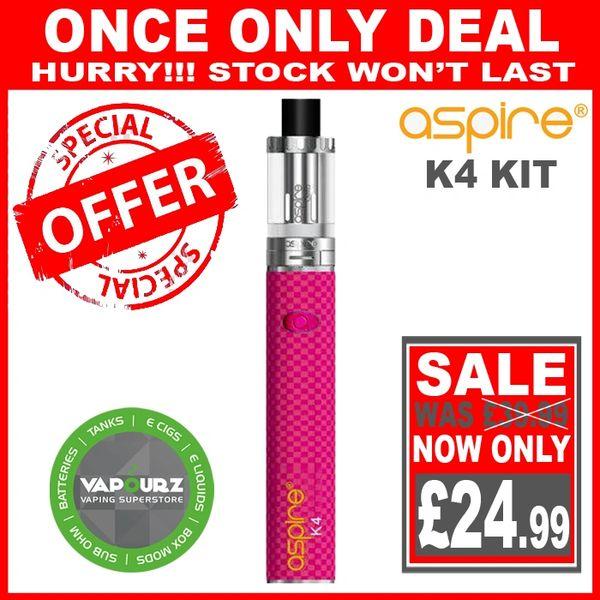 Aspire K4 Quick Start Kit Pink