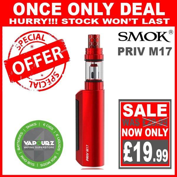 Smok Priv M17 Kit Red