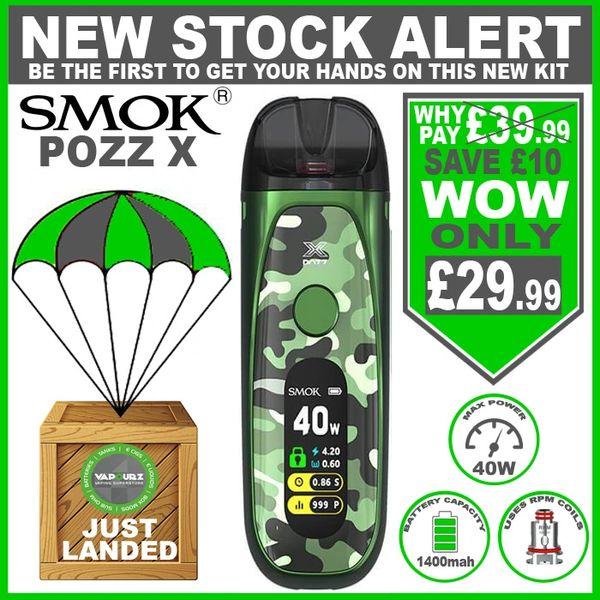 SMOK POZZ X Green camouflage