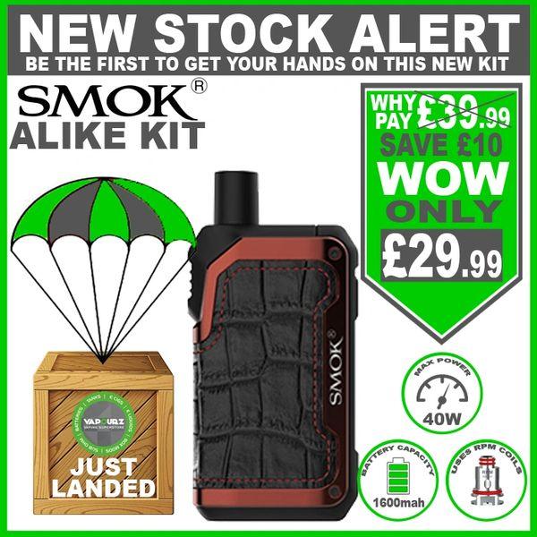 SMOK Alike Kit Matte Red