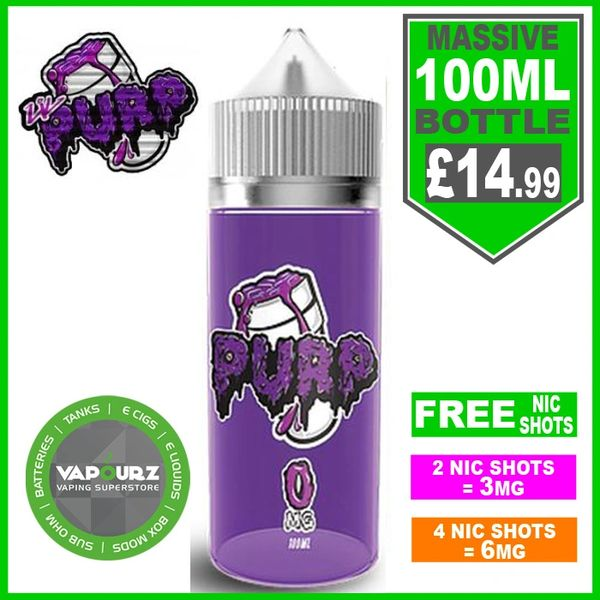 Grape hard candy lemonade PURP 100ml