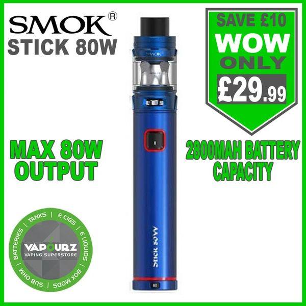 SMOK Stick 80W Kit Blue