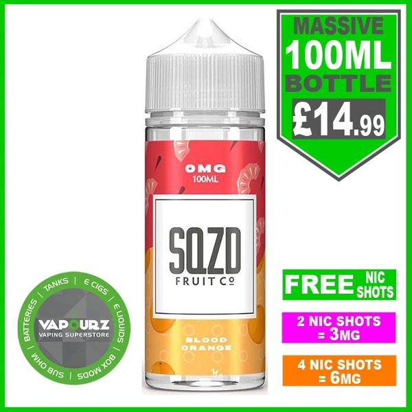 SQZD Blood Orange 100ml