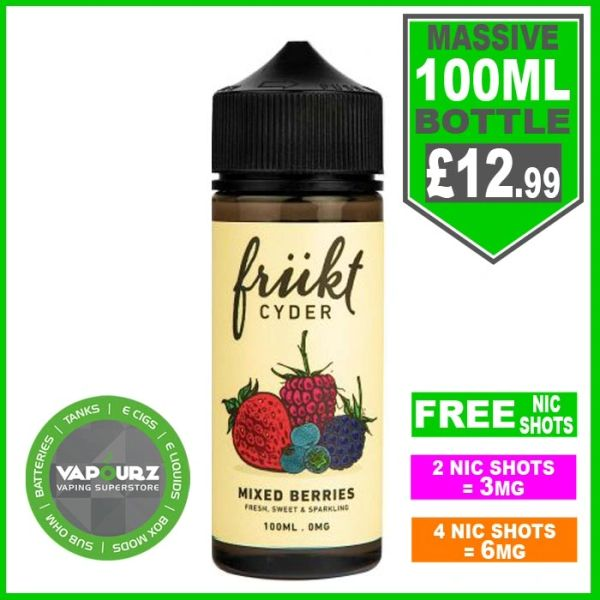 Frukt Cyder Mixed Berries 100ml