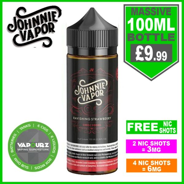 Johnnie Vapor Ravishing strawberry 100ml
