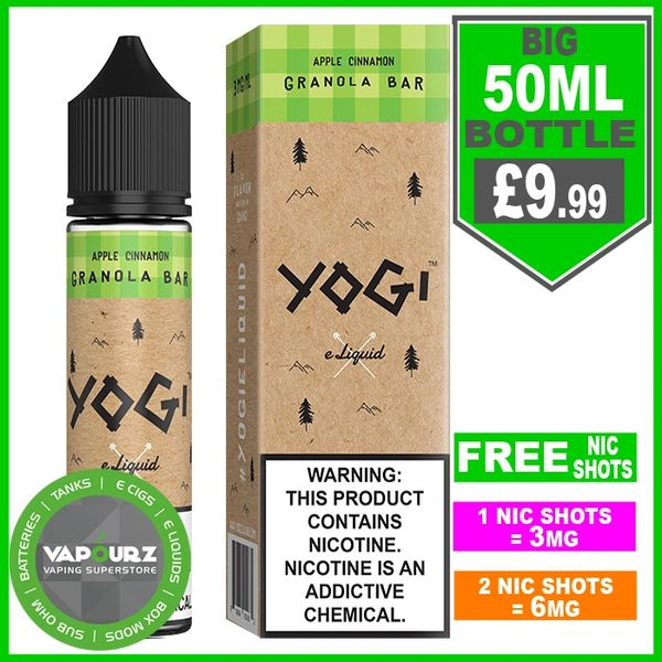 Yogi Apple Cinnamon Granola Bar 50ml