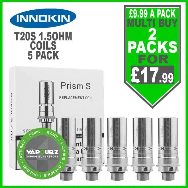 Innokin Prism S T20S Coils 1.5ohm 5 pack