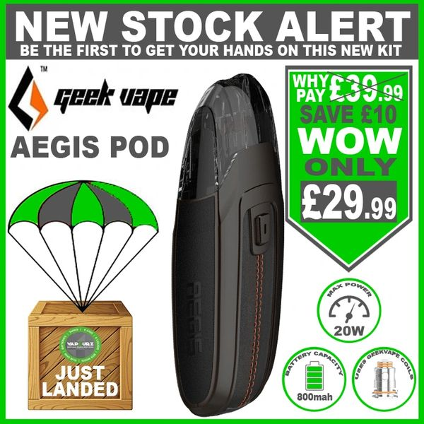 Geekvape AEGIS POD Gun Metal