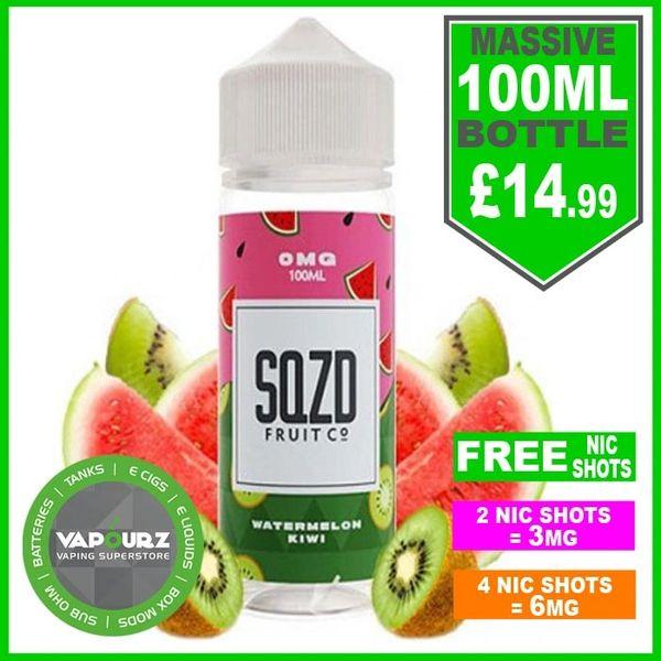 SQZD Watermelon kiwi 100ml