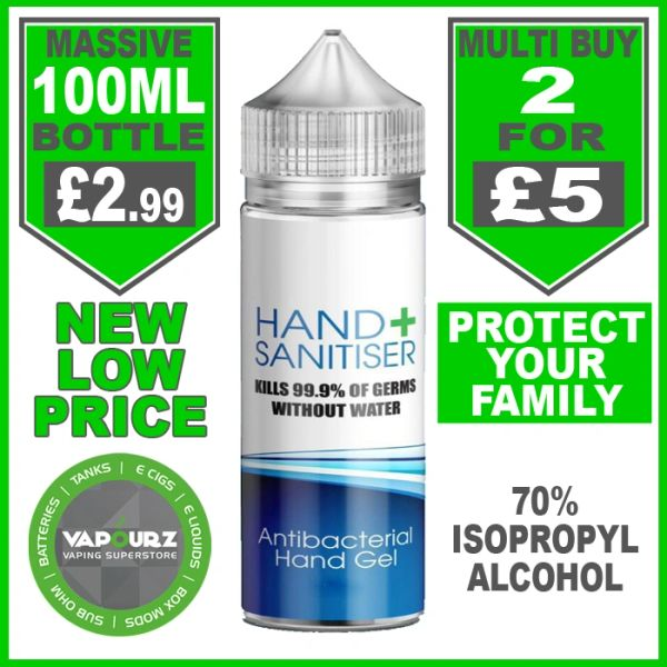 100ml Hand Sanitizer with 70% Isopropyl Alcohol
