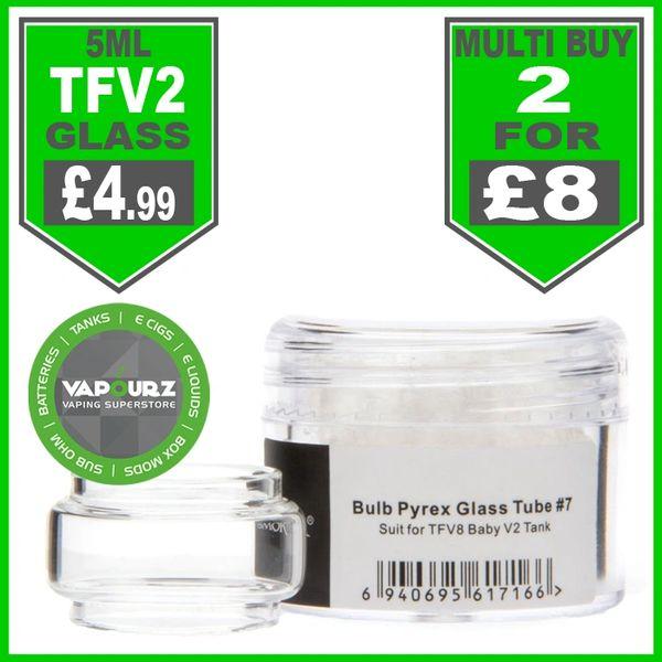 Smok TFV8 Baby V2 Bubble Glass #7