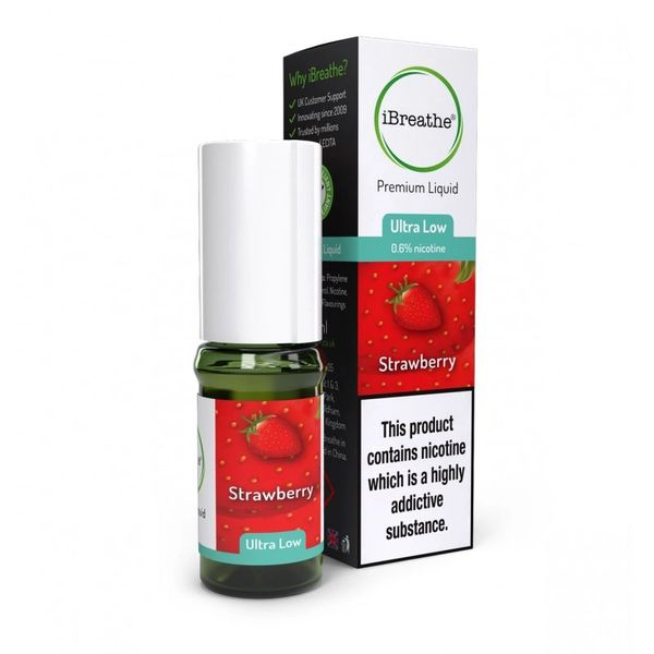 Ibreathe Strawberry 3 x 10ml