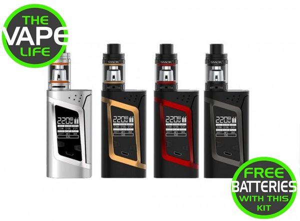 Smok Alien 220w RHA + 2 18650 Batteries