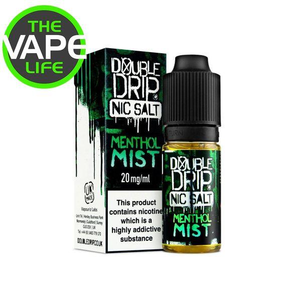 Double Drip Menthol Mist Nic Salt 10ml x 3