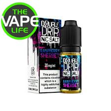 Double Drip Raspberry Sherbet Nic Salt 10ml x 3
