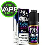 Double Drip Super Berry Sherbet Nic Salt 10ml x 3