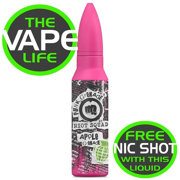 Riot Squad Punk Grenade Apple Grenade 50ml + Nic Shot