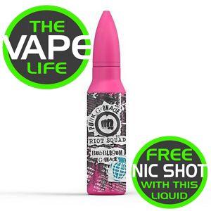 Riot Squad Punk Grenade Bubblegum Grenade 50ml + nci shot