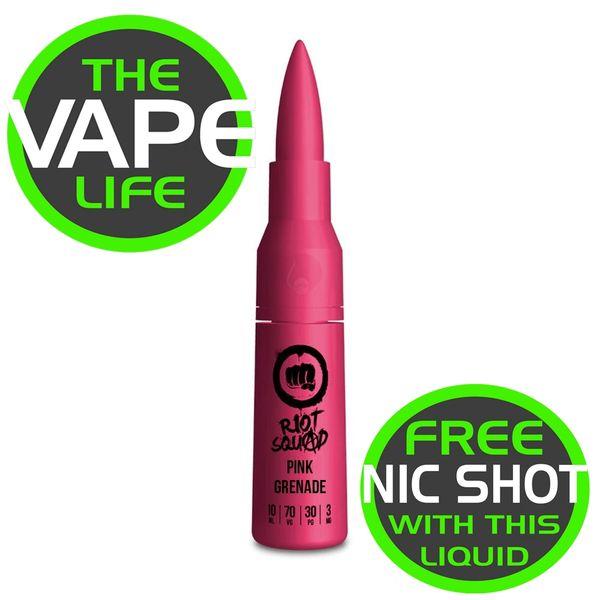Riot Squad Pink Grenade 50ml + nic shot