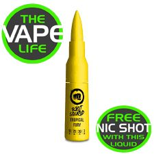 Riot Squad Tropical Fury 50ml + nic shot