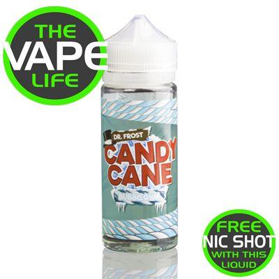 Dr Frost Candy Cane Bubblegum 100ml + 2 nic shts