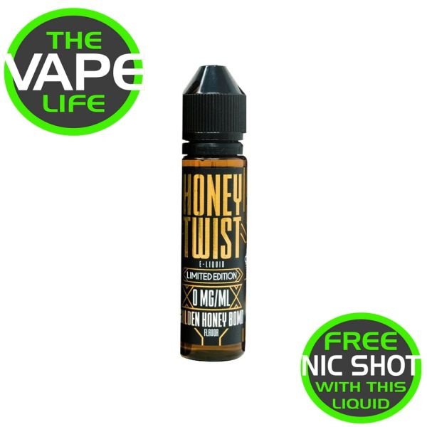 Honey Twist Golden Honey Bomb 50ml + Nic Shot