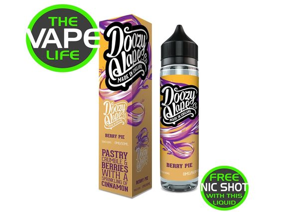 Doozy Berry Pie 50ml + Nic Shot