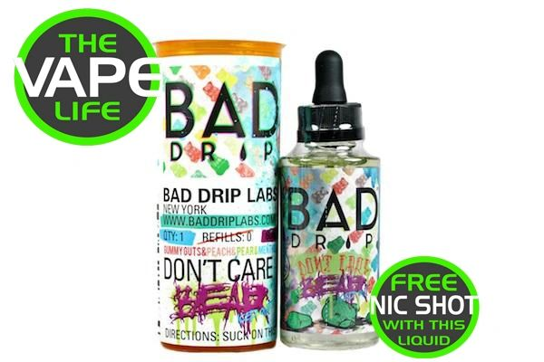 Bad Drip Don't Care Bear Iced Out 50ml + Nic Shot