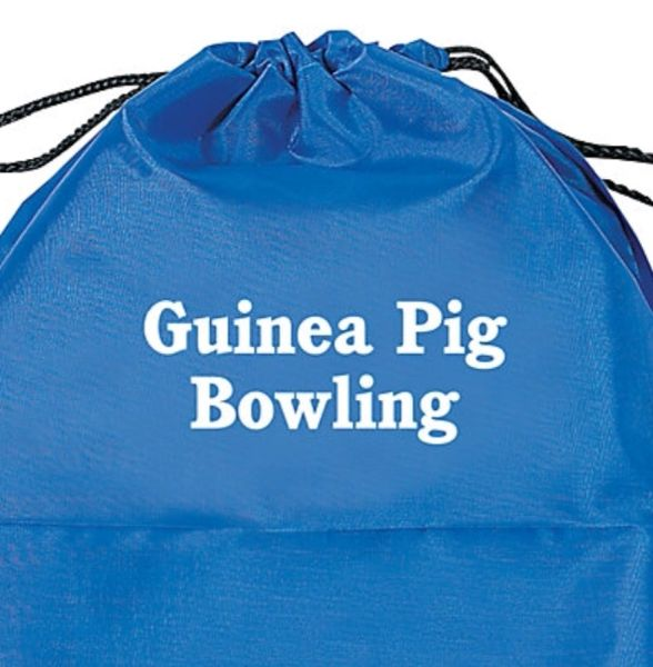 Guinea Pig Bowling Pin Set