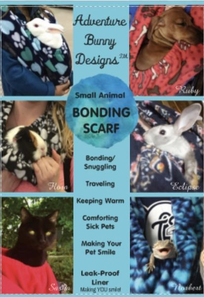 Bonding Scarf-Blue